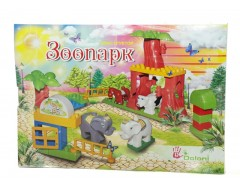 """MINI CONSTRUCTOR """"ZOO"""" 34 DETAILS 13888/26"""